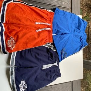 Set of 3 OshKosh Boys Athletic Shorts Size 3T